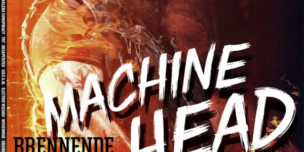 Machine Head cover MetalHammer