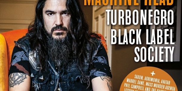 Close Up Magazine cover story Robb Flynn