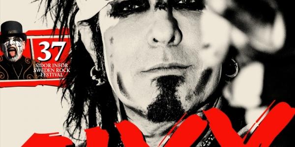 Nikki Sixx, Mötley Crüe cover Sweden Rock Magazine