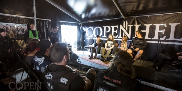 At the Gates meet & greet, Copenhell 2018