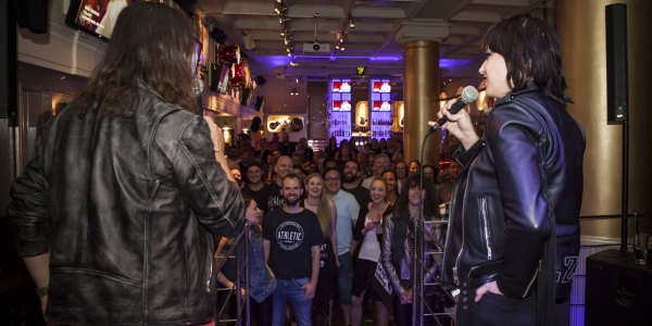Halestorm meet & greet Stockholm 2018