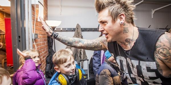 Papa Roach meet & greet 2015