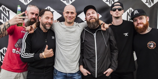 In Flames meet & greet Copenhell 2017