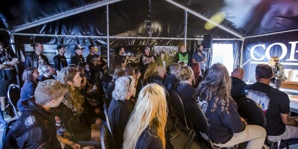 Satyricon meet & greet, Copenhell 2018