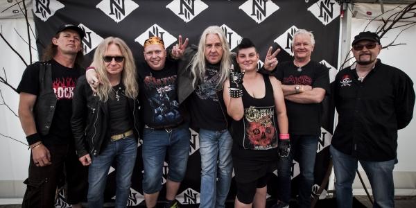 Saxon meet & greet Copenhell 2017