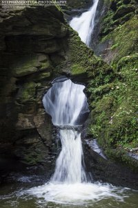 Tintagel waterfall